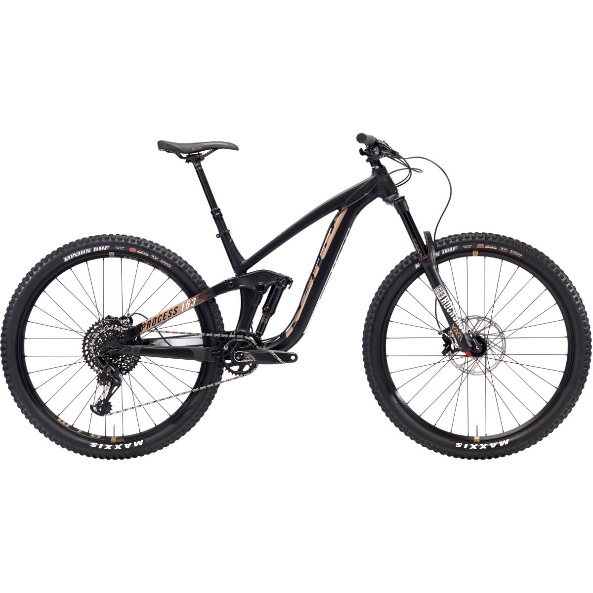 VTT Kona Prcoess 153 AL/DL 29 pouces (2018) - Medium Stock Bike Noir