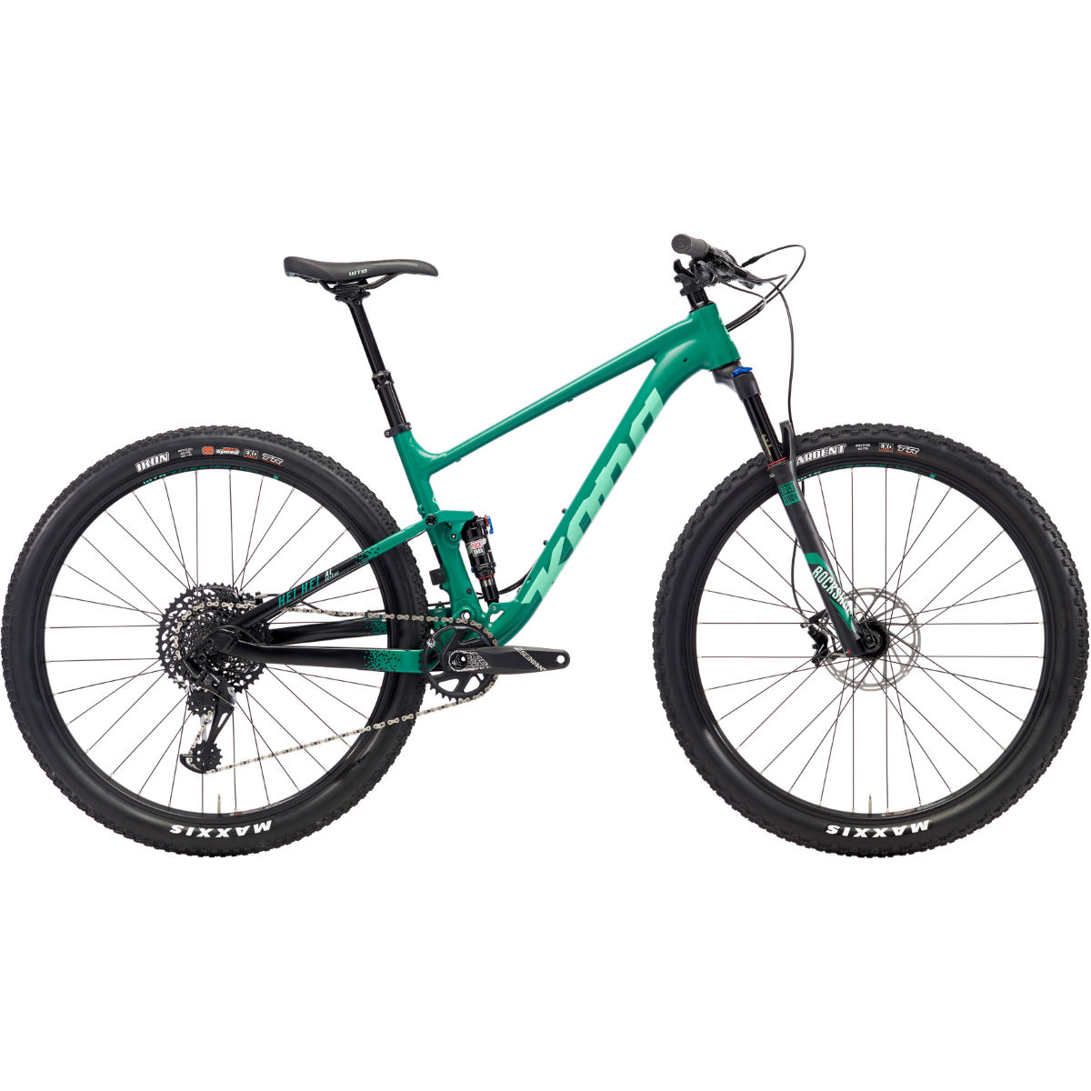 VTT Kona Hei Hei AL/DL (2018) - Medium Stock Bike Vert