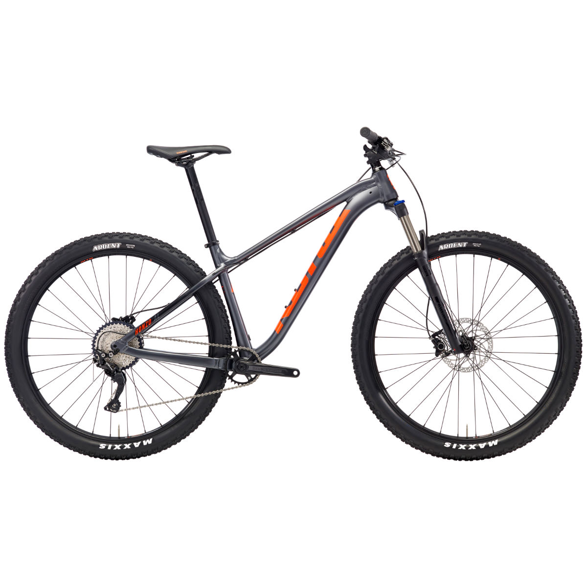 VTT Kona Honzo AL (2018) - Medium Stock Bike Gris VTT semi-rigides