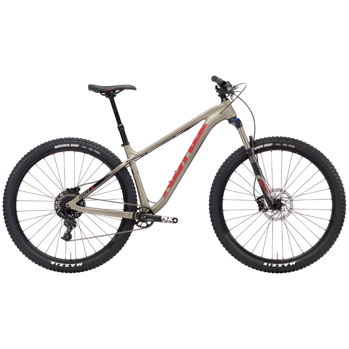 VTT Kona Honzo AL/DR (2018) - Medium Stock Bike Doré