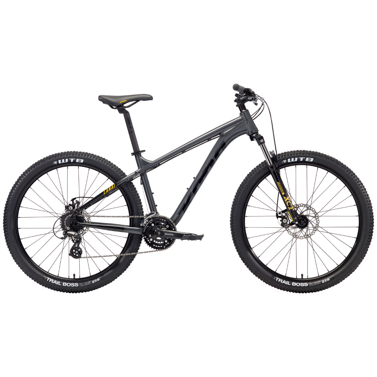 VTT Kona Lanai (2018) - Small Stock Bike Charbon VTT semi-rigides