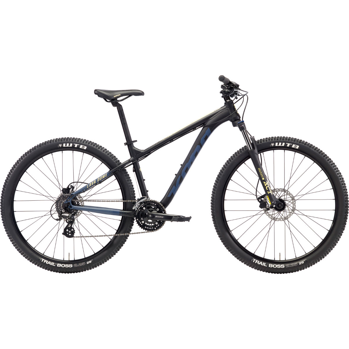 VTT Kona Lava Dome (2018) - Small Stock Bike Noir VTT semi-rigides