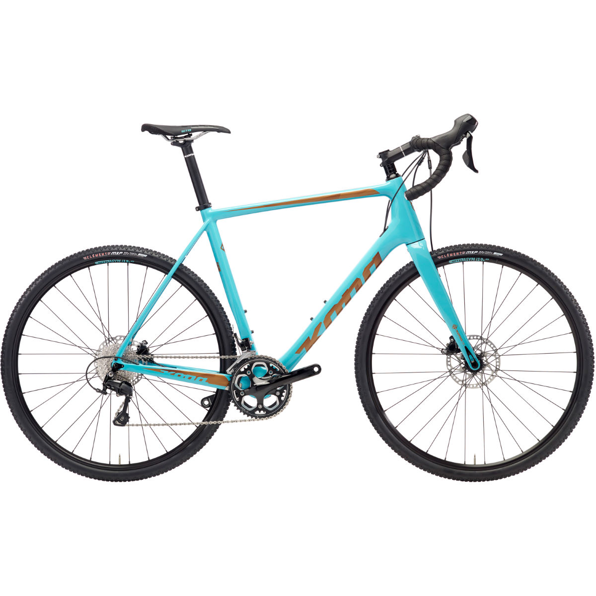 Vélo de route Kona Major Jake (2018) - 52cm Stock Bike Bleu