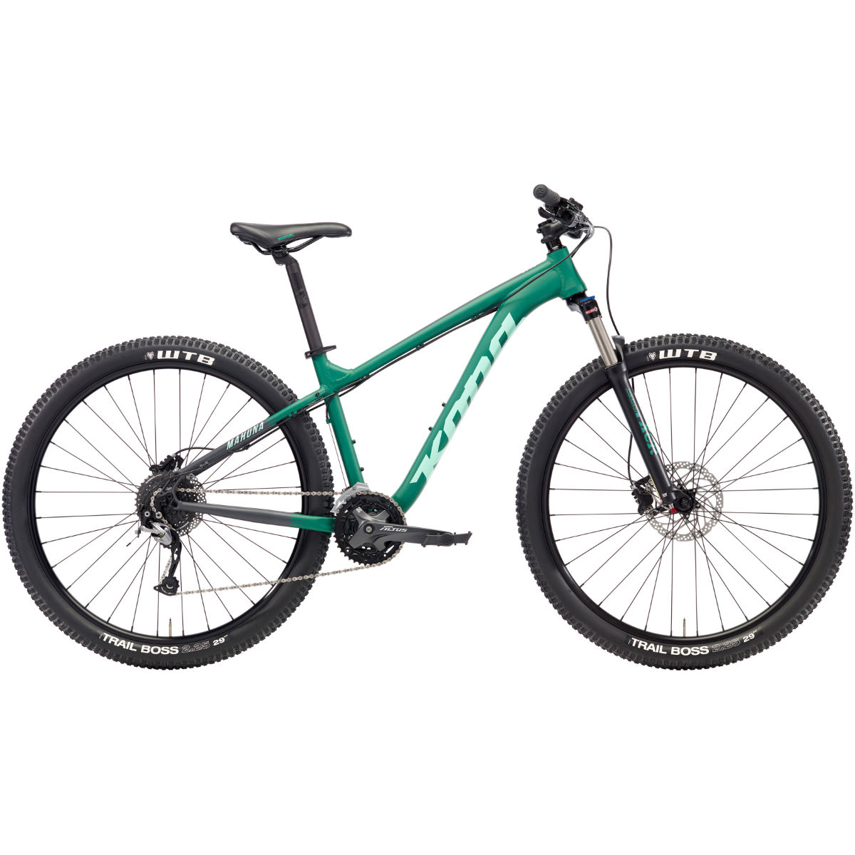 VTT Kona Mahuna (2018) - Medium Stock Bike Vert VTT semi-rigides