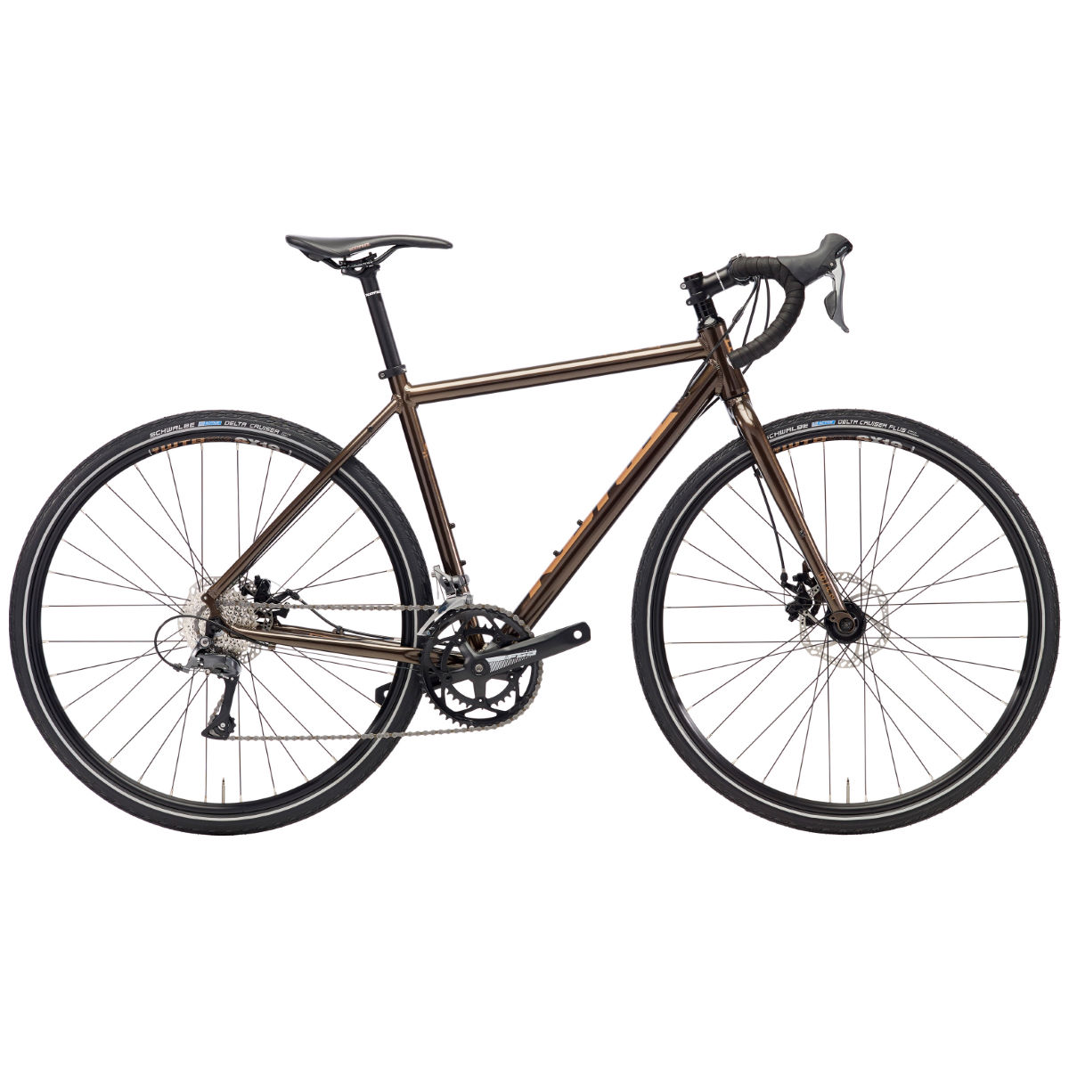 Vélo de route Kona Rove (2018) - 48cm Stock Bike Rust
