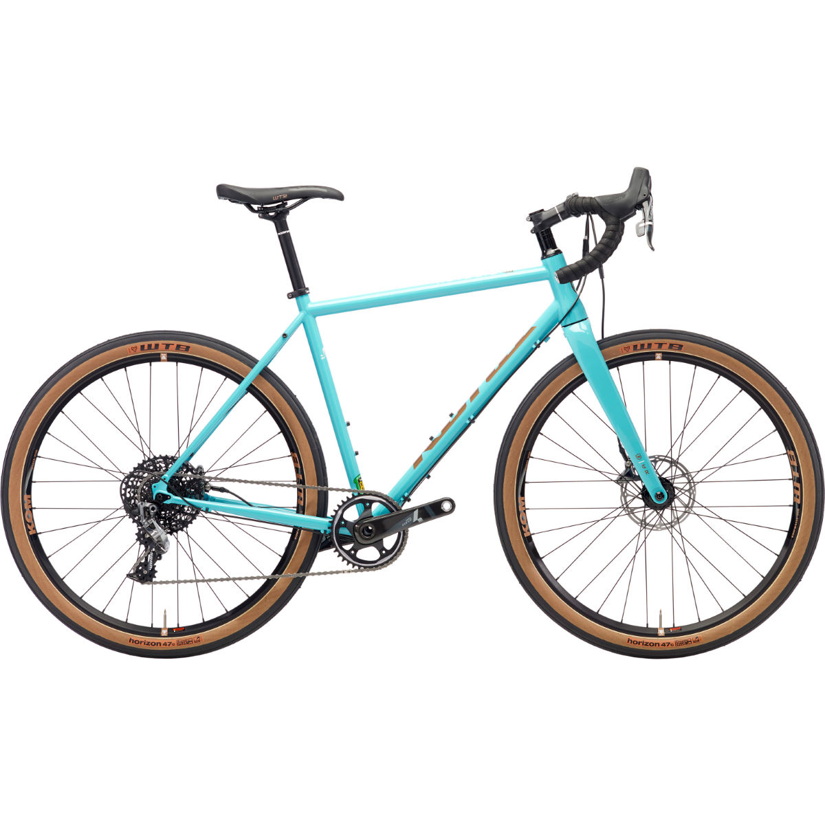 Vélo de route Kona Rove LTD (2018) - 50cm Stock Bike Bleu