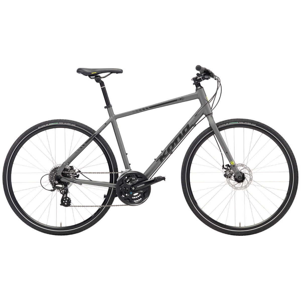 Vélo de route Kona Dew (2018) - 46 cm Stock Bike Grey