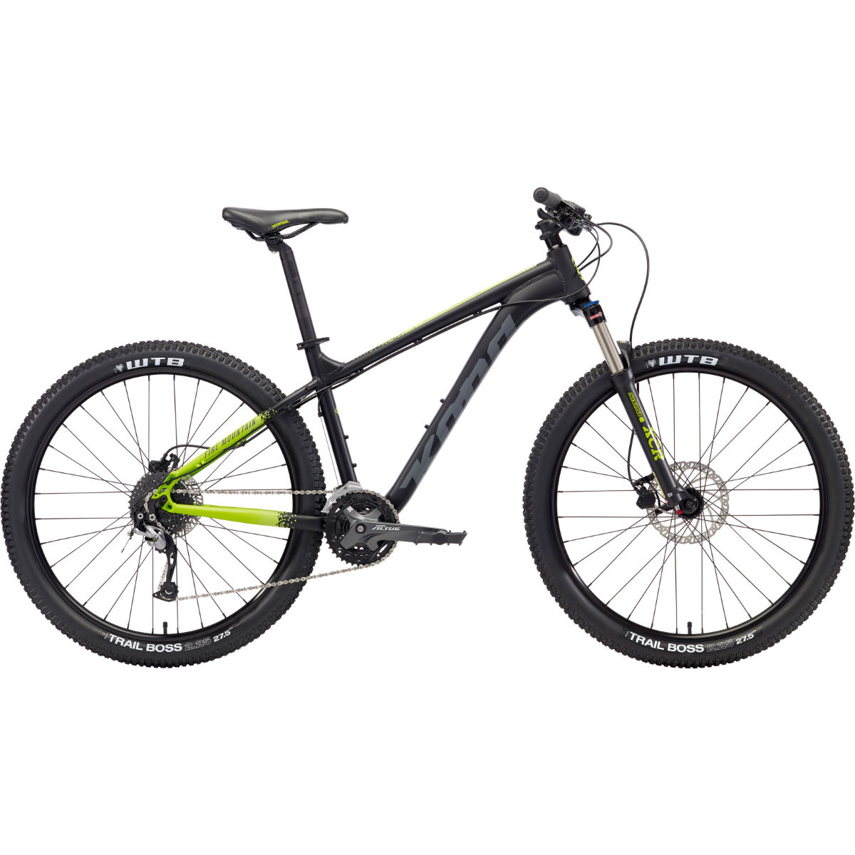 VTT Kona Fire Mountain (2018) - Small Stock Bike Noir