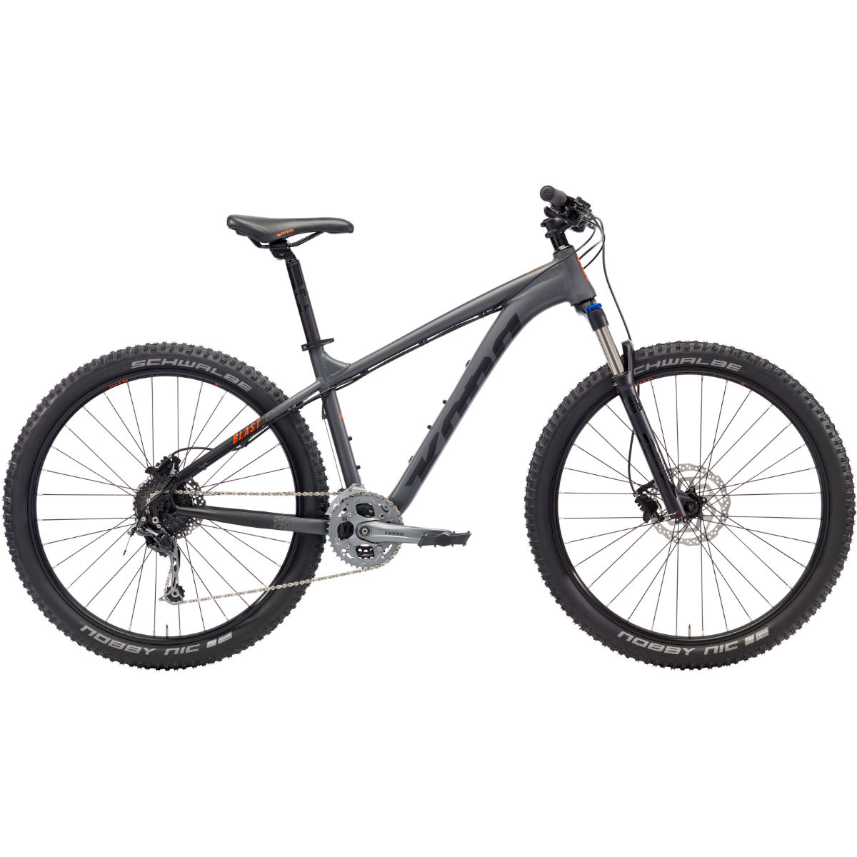 VTT semi-rigide Kona Blast (2018) - Medium Stock Bike Gris