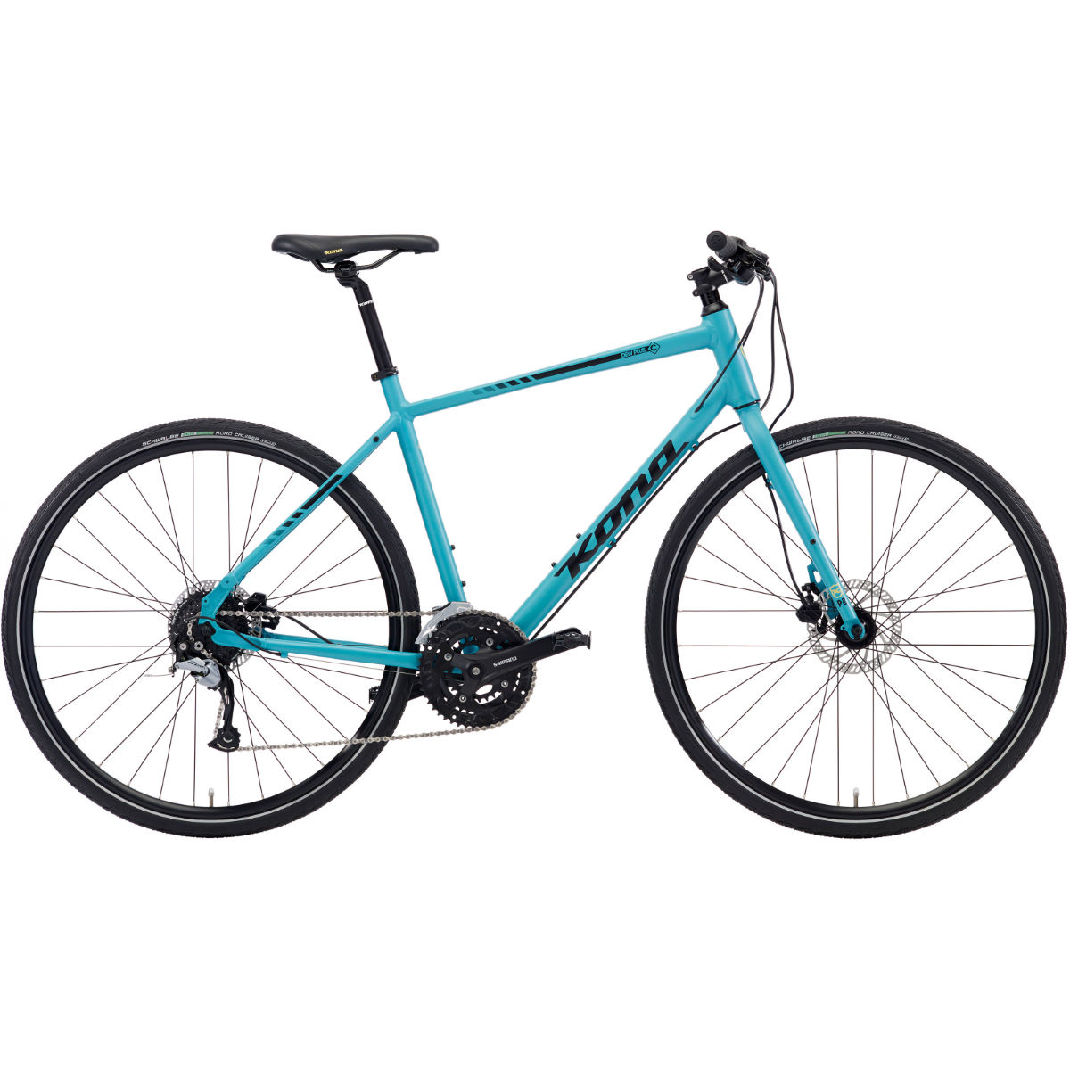 Vélo de route Kona Dew Plus (2018) - 55cm Stock Bike Seafoam