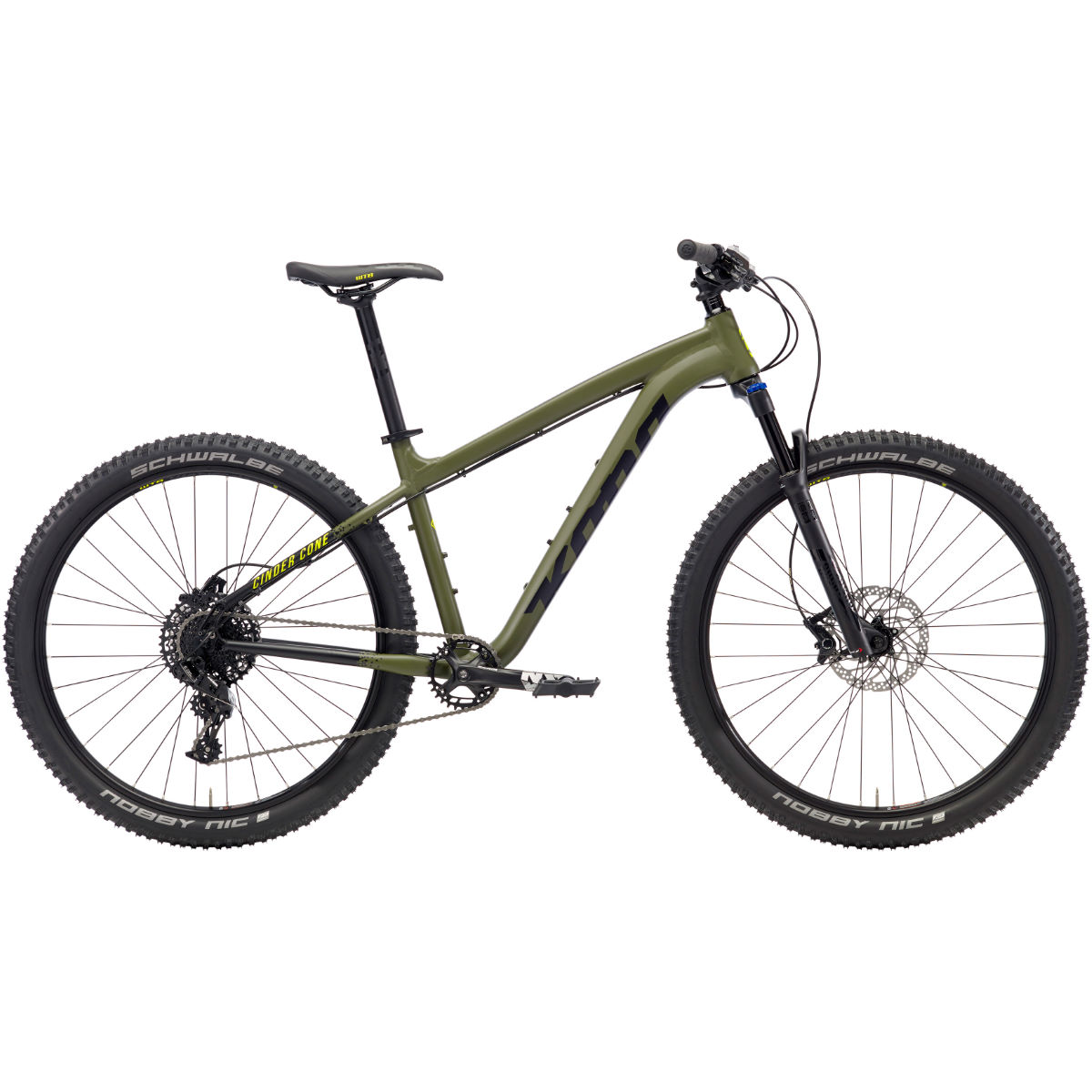 VTT semi-rigide Kona Cinder Cone (2018) - Small Stock Bike