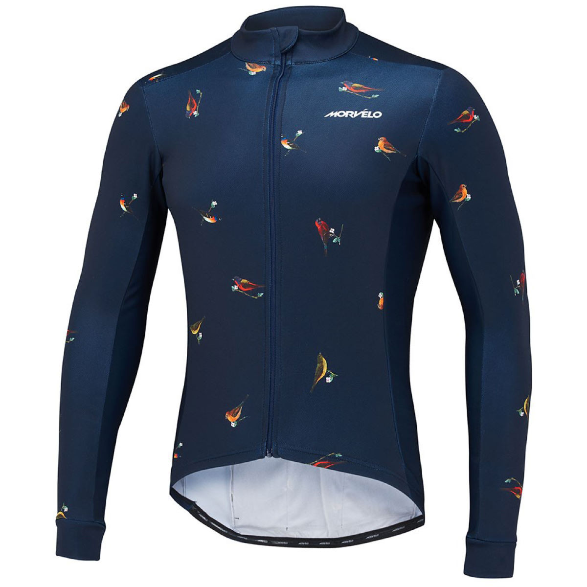 Maillot Morvelo Birds Thermoactive (manches longues) - X Small Birds