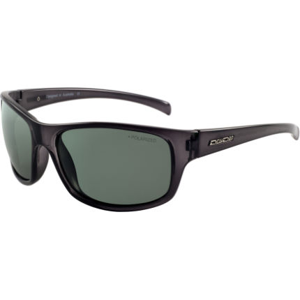 Dirty Dog Shock Polarised Sunglasses Transparent/Green One S