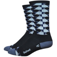 DeFeet Aireator Hi Top High Ball Cykelstrumpor (6 tum)