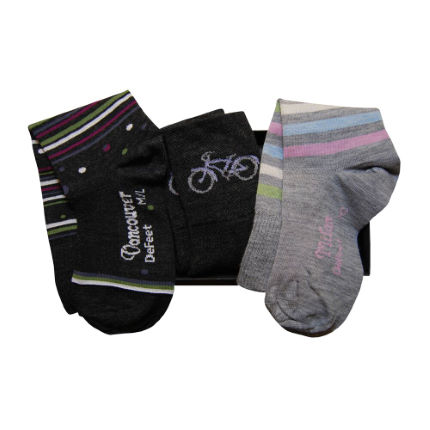 DeFeet Women's Wool Socks Gift Box