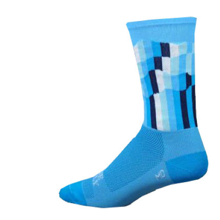 "DeFeet Aireator Hi Top 6"" The Grind Socks"