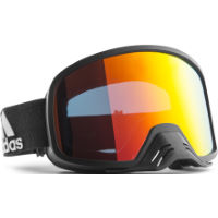 Adidas Backland Dirt Red Mirror Goggles