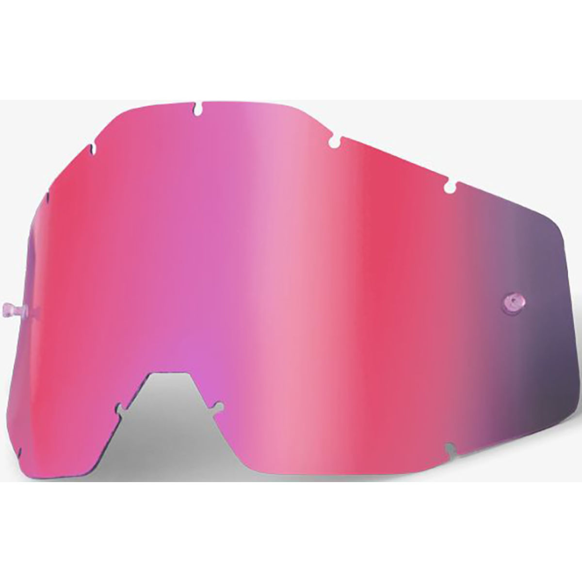 100% RACECRAFT/ACCURI Replacement Lens Pink Mirror / Sm - Gafas de sol