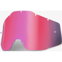 100% RACECRAFT/ACCURI Replacement Lens Pink Mirror / Sm