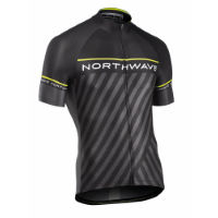 Northwave Logo 3 Jersey  Black/Red 3XL
