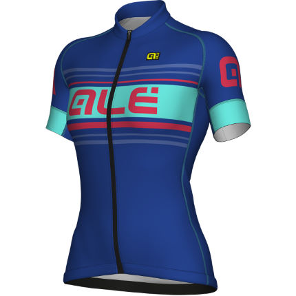 Alé Women's Formula 1.0 Sinuosa Jersey  Blue/Red L