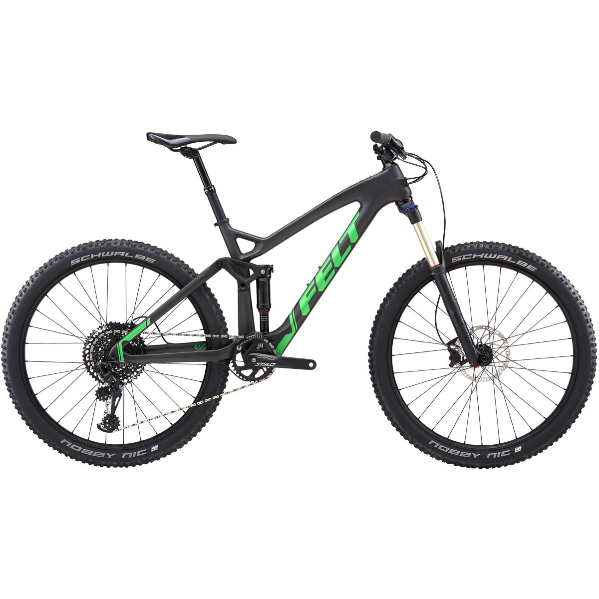 Felt Decree 4 (2018) Full Suspension MTB Bike - Bicicletas de MTB de doble suspensión