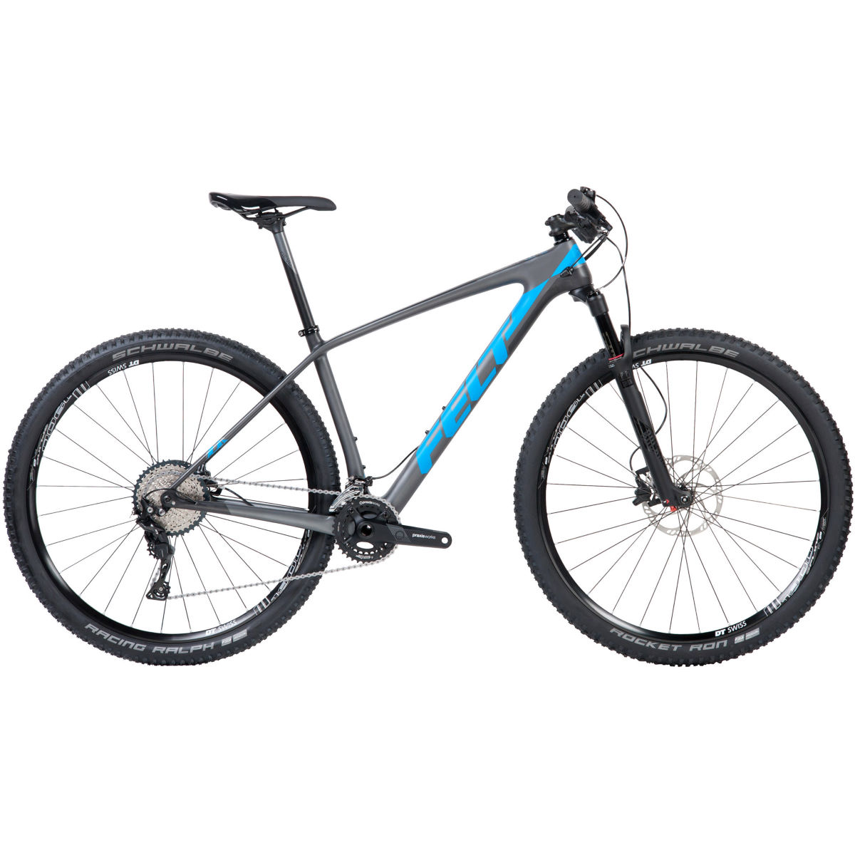 VTT semi-rigide Felt Doctrine 4 XC (carbone, 2018) - 20'' Stock Bike