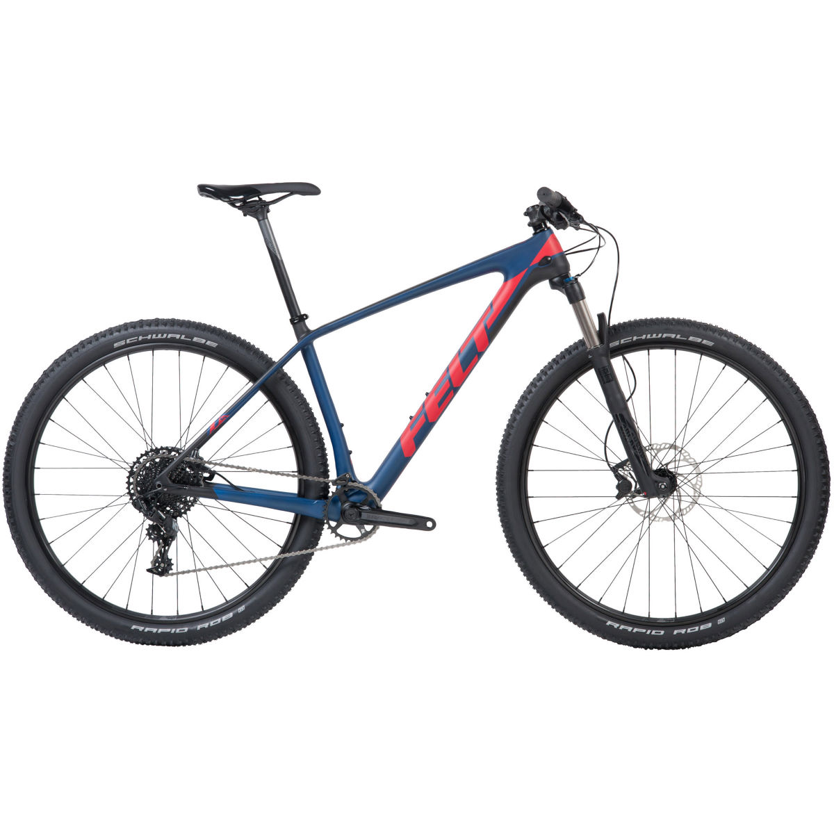 VTT semi-rigide Felt Doctrine 5 XC (carbone, 2018) - 18'' Stock Bike