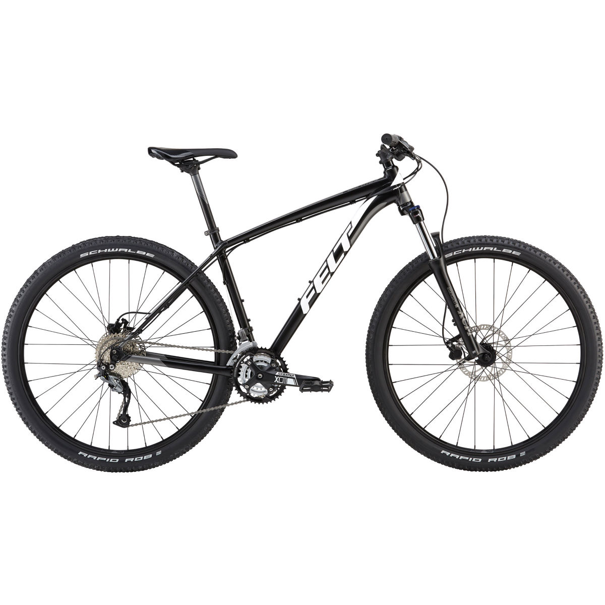 VTT semi-rigide Felt Dispatch 9/70 XC (2018) - 20'' Stock Bike