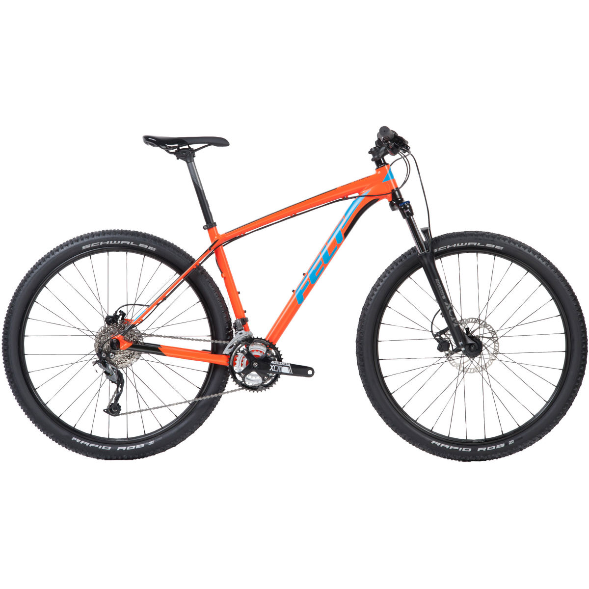 VTT semi-rigide Felt Dispatch 9/70 XC (2018) - 16'' Stock Bike