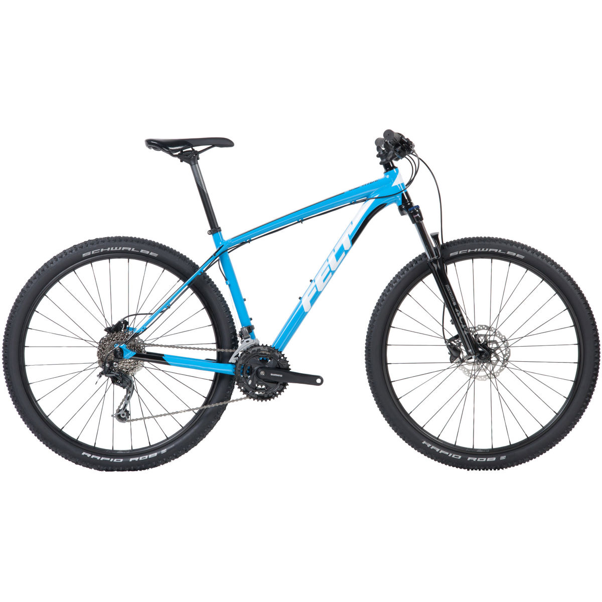 VTT semi-rigide Felt Dispatch 9/60 XC (2018) - 20'' Stock Bike