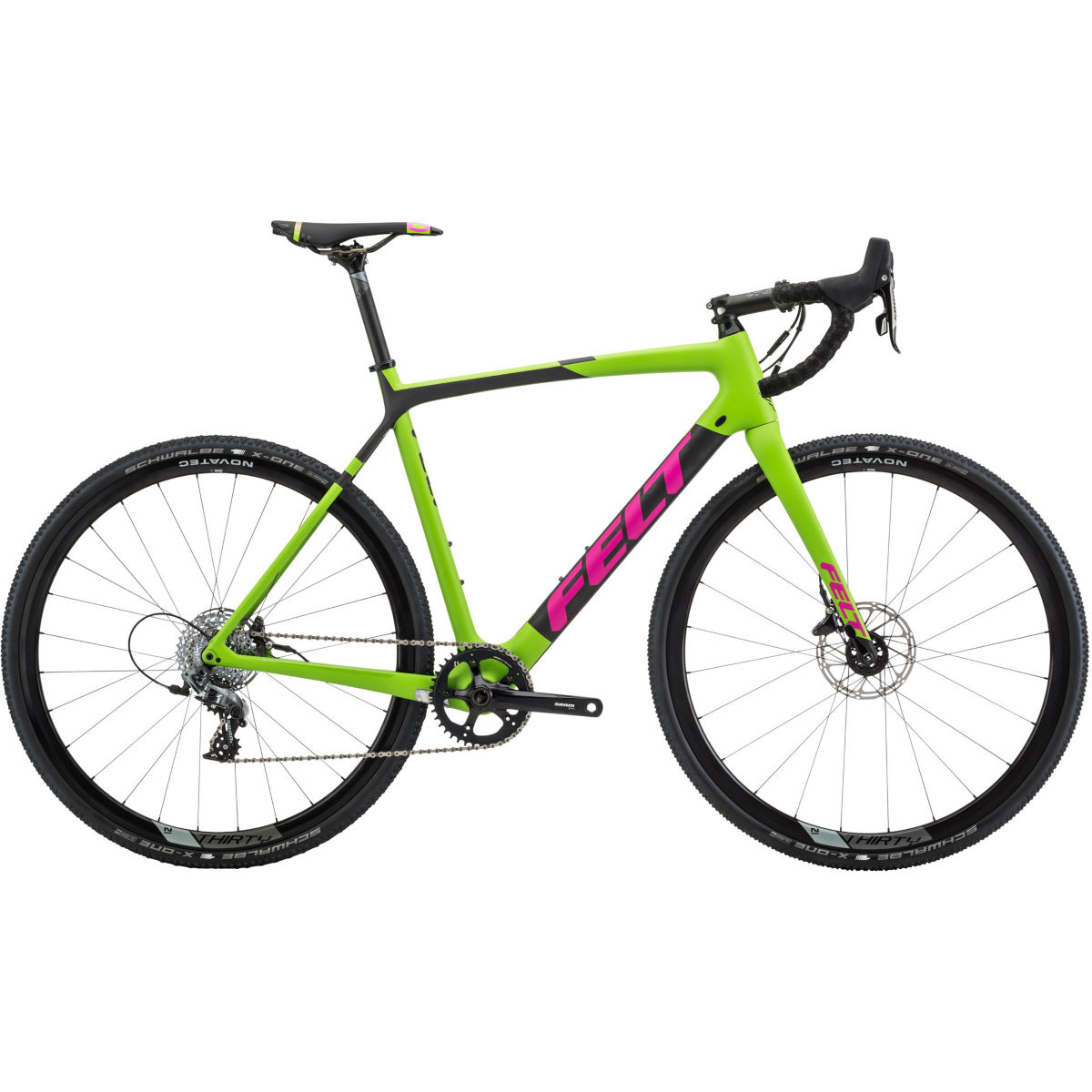 Vélo de cyclo-cross Felt F4X (2018) - 55cm Stock Bike