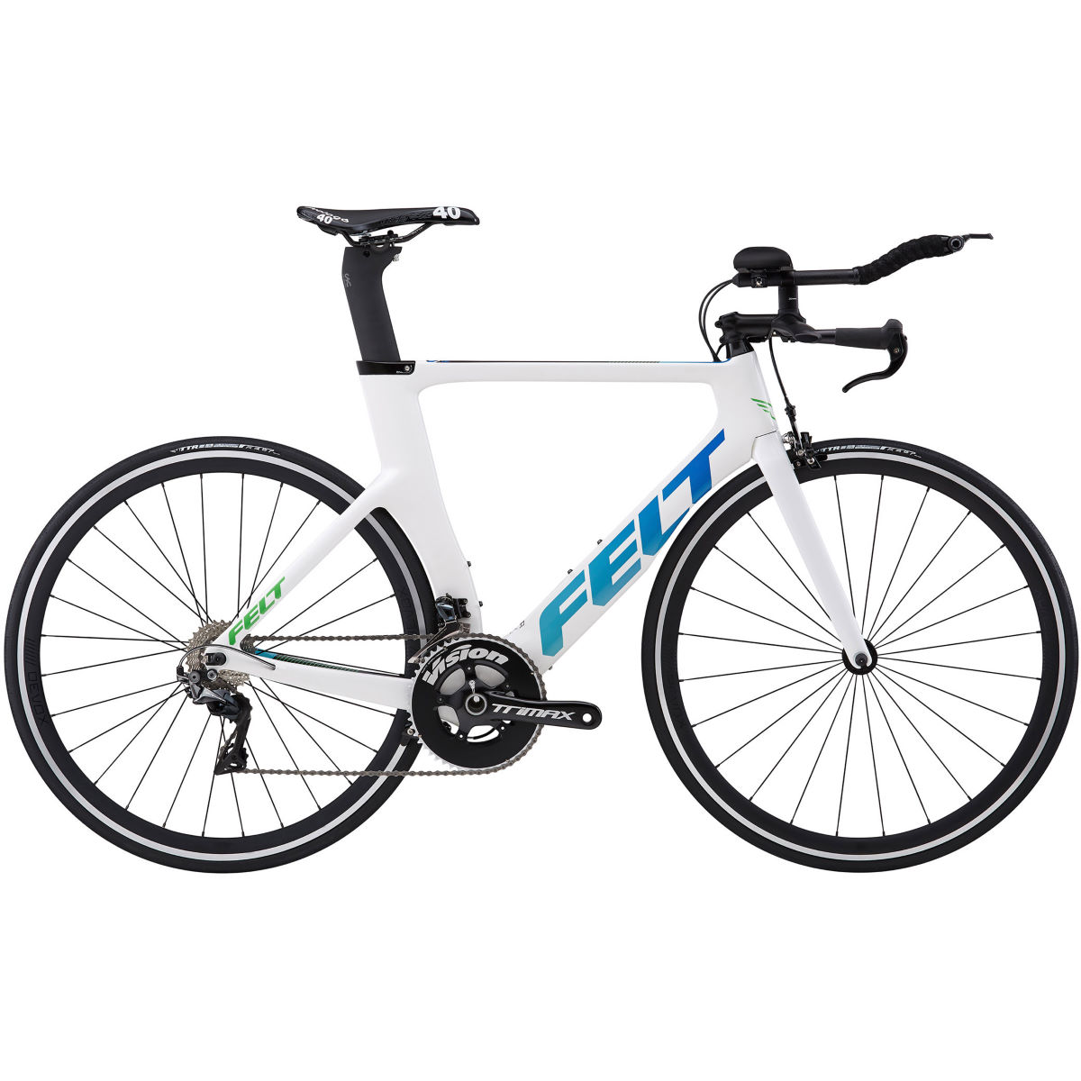 Vélo de route Felt B12 Triathlon (2018) - 51cm Stock Bike