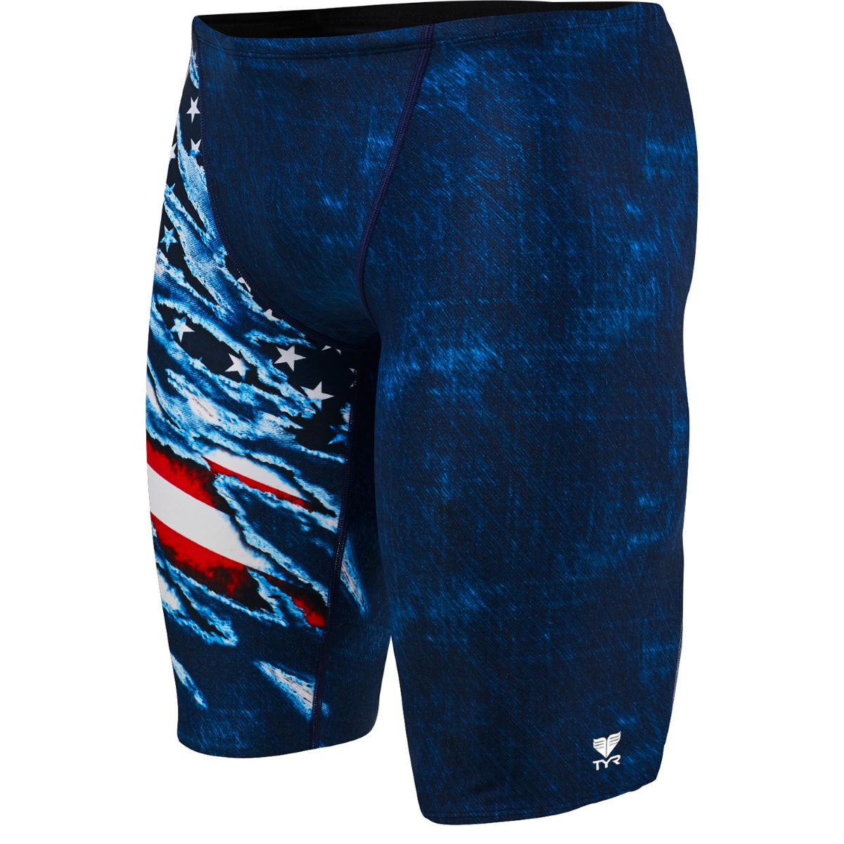 Jammer TYR Live Free - 26'' Red/White/Blue Jammers