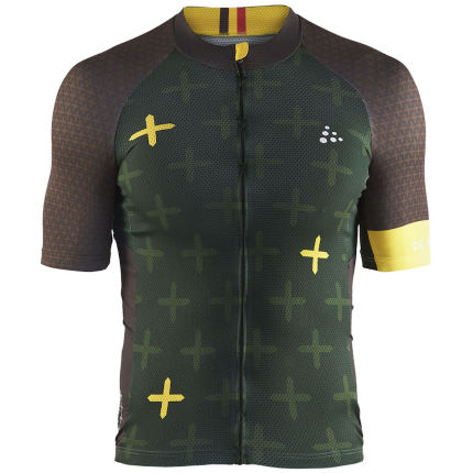 Craft Monument Short Sleeve Jersey Ronde Van Vlaanderen
