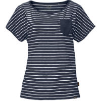 Jack Wolfskin TravelStriped T-shirt voor dames