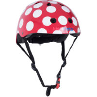 picture of Kiddimoto Red Dotty Helmet