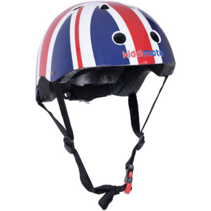 Kiddimoto Union Jack Helmet Red/Multi M