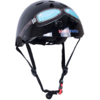 picture of Kiddimoto Black Goggle Helmet