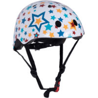 picture of Kiddimoto Starz Helmet White/Multi S