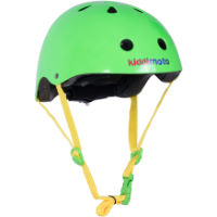 picture of Kiddimoto Neon Green Helmet