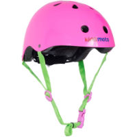 picture of Kiddimoto Neon Pink Helmet
