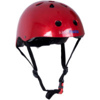 picture of Kiddimoto Metallic Red Helmet