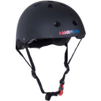 picture of Kiddimoto Matte Black Helmet