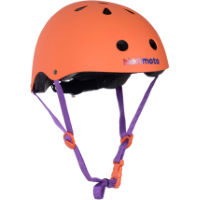 picture of Kiddimoto Matt Orange Helmet