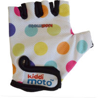 Kiddimoto Pastel Dotty Handskar - Junior