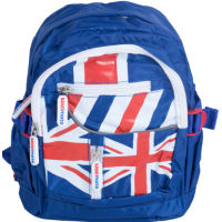 Kiddimoto Union Jack Ryggsäck - Junior