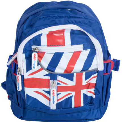 Kiddimoto Union Jack Back Pack