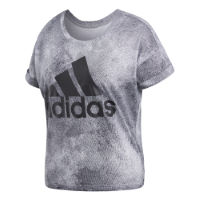 adidas Womens Performance All-Over-Print T-Shirt