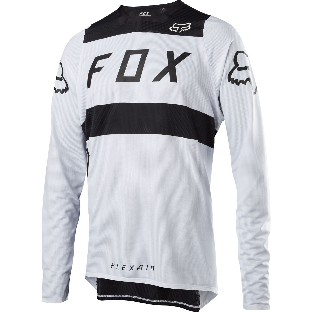 Fox Racing Flexair Jersey - S White/Black | Downhill Jerseys